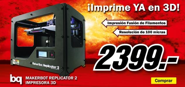 Impresora 3d media markt